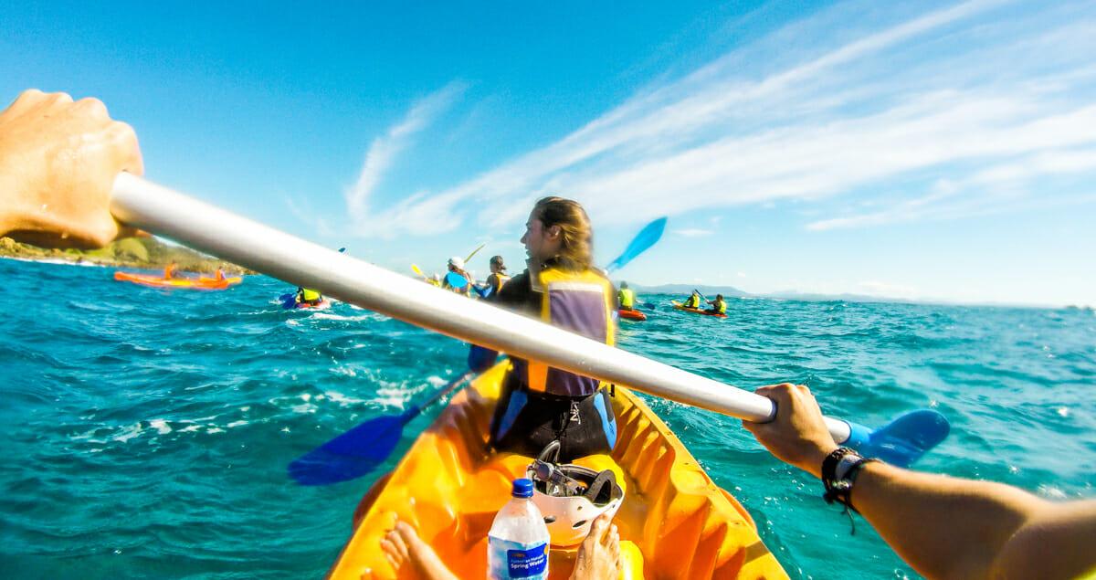 Cote Est Australie Byron Bay Kayak