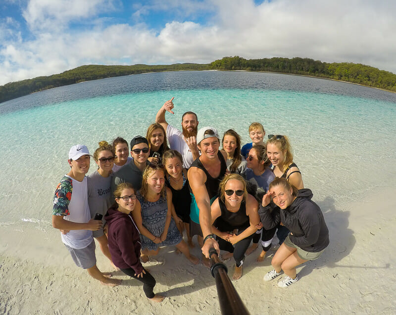 Fraser Island Mckenzie lake