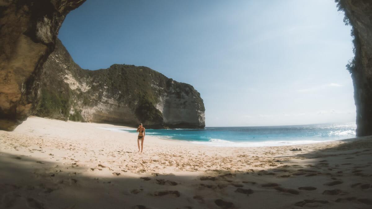 kelingking beach nusa penida bali