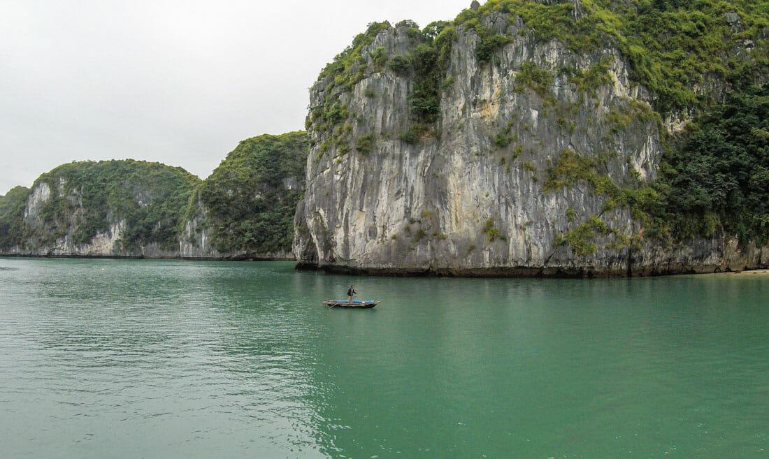 que faire au vietnam baie halong