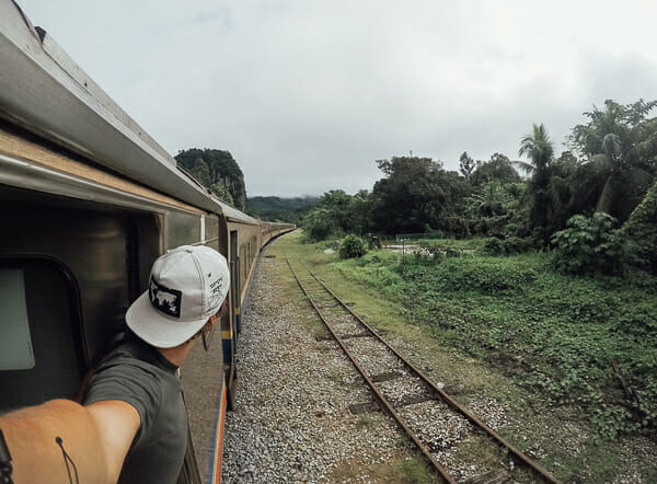 que faire en malaisie voyage train