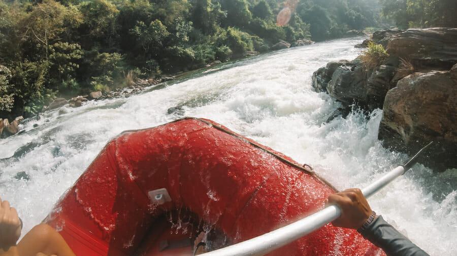 que faire au sri lanka rafting kitulgala