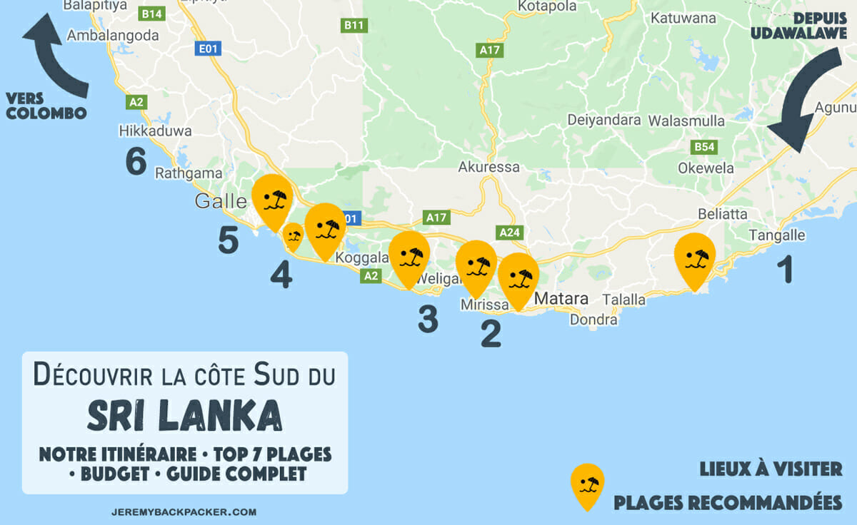 carte-plage-sri-lanka-cote-sud