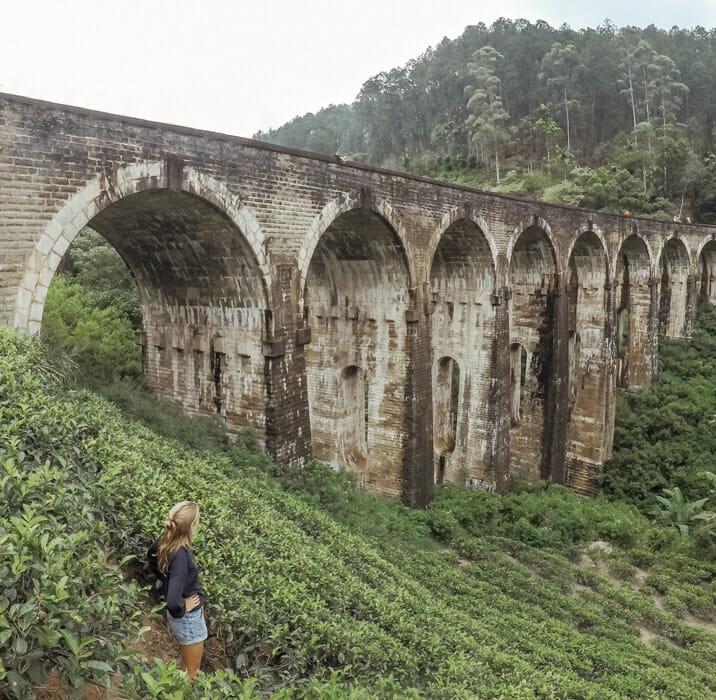 itineraire road trip sri lanka ella nine arch bridge