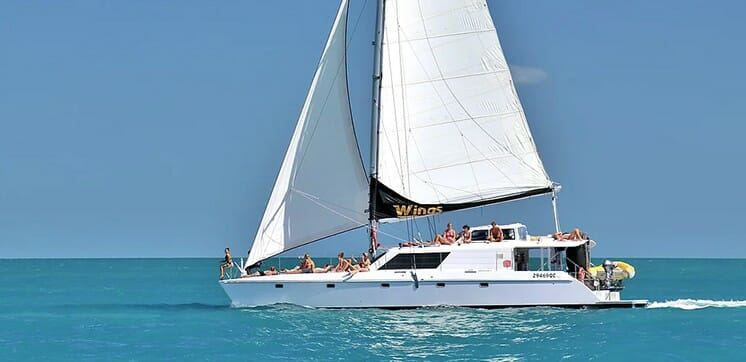 croisiere wings whitsundays 2 jours