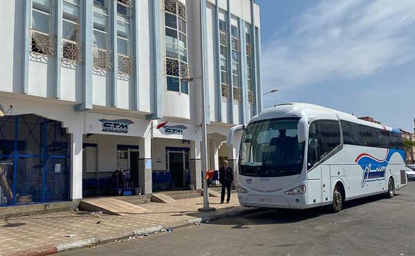 essaouira maroc gare routiere
