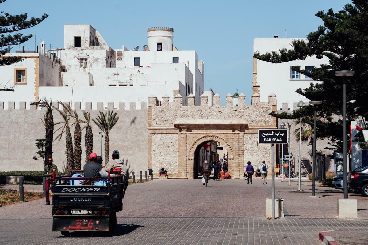 Entrée principale de la Medina