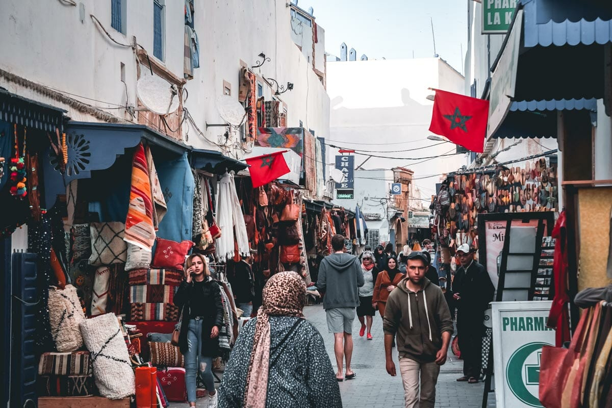 medina ruelle essaouira maroc
