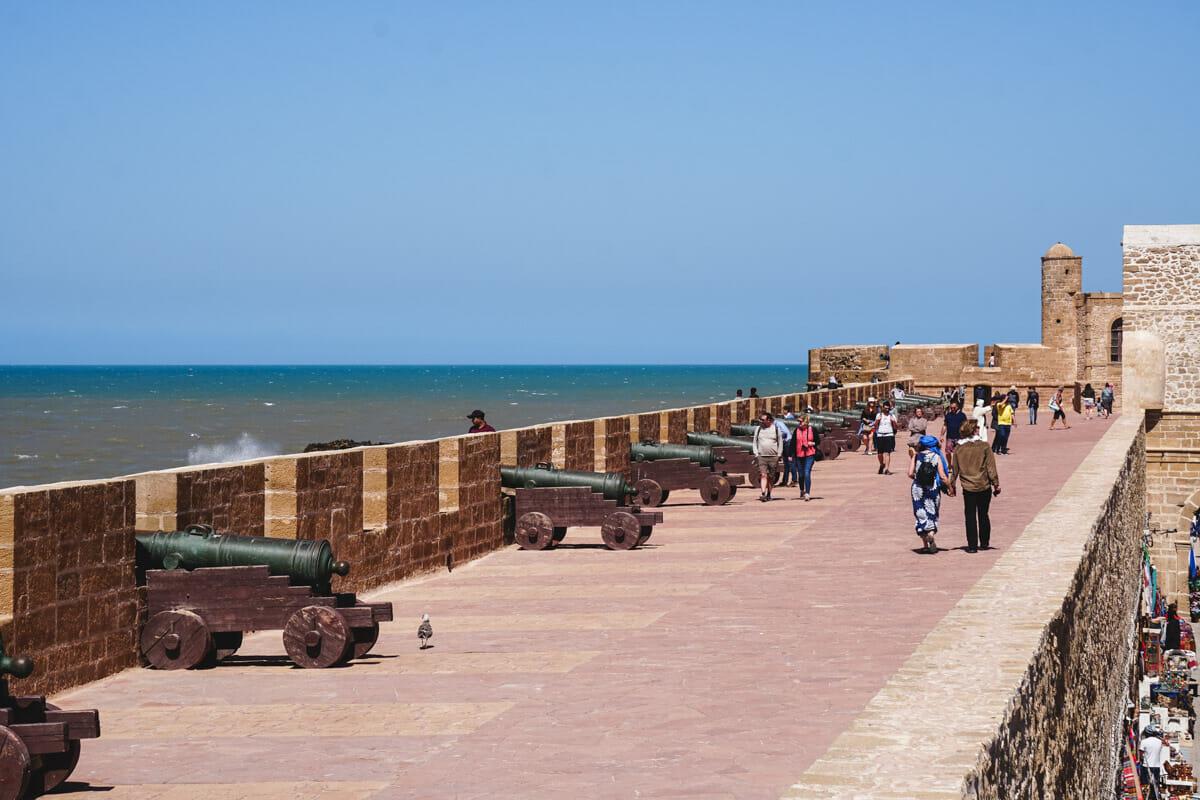 remparts essaouira maroc