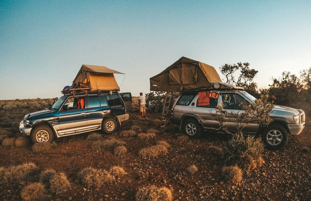 camping 4x4 voyage australie