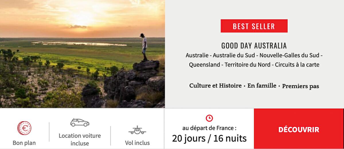 voyage circuit organise australie
