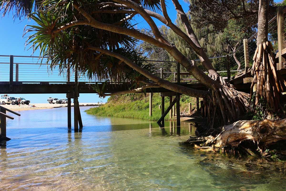 eli creek fraser island australie
