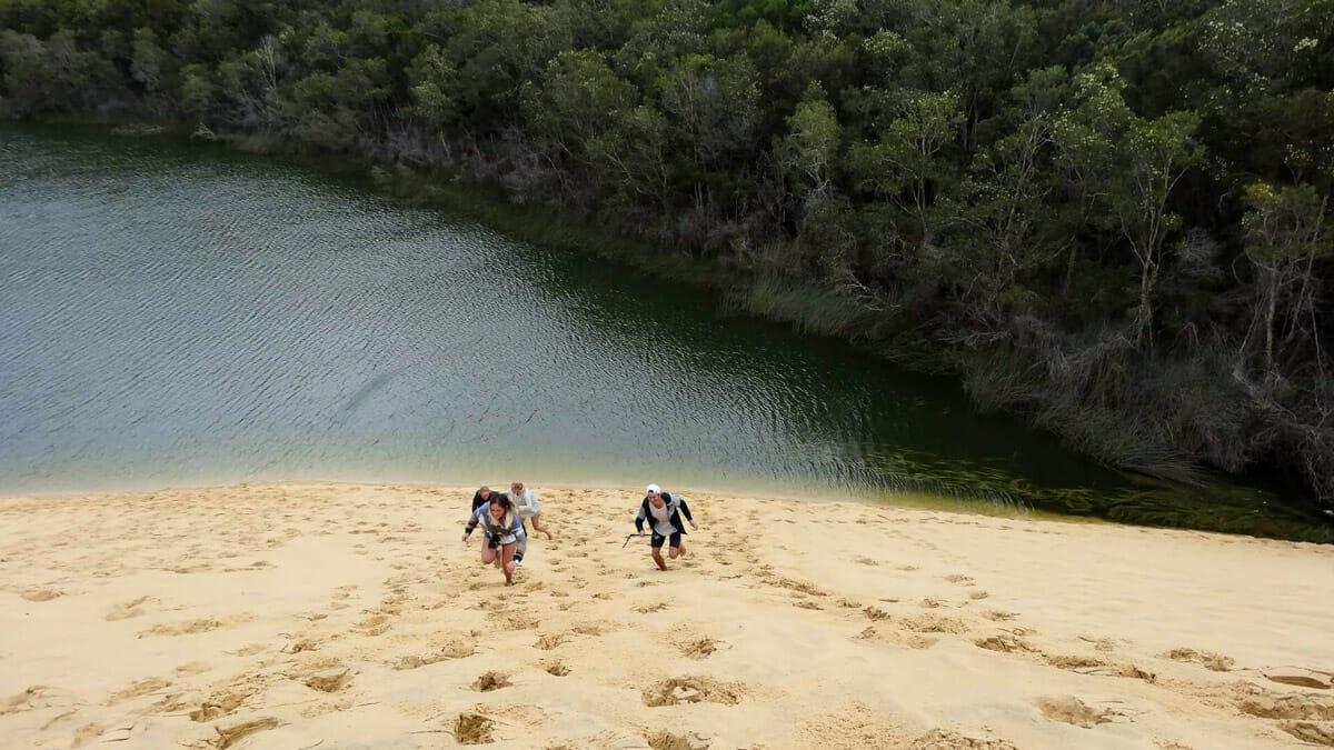 lac dunaire fraser island