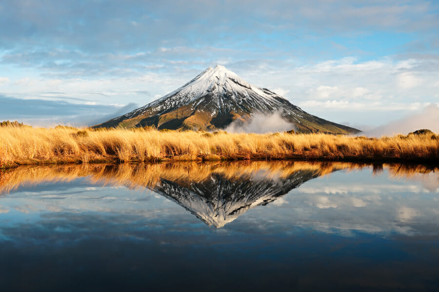 voyage nouvelle zelande mont taranaki
