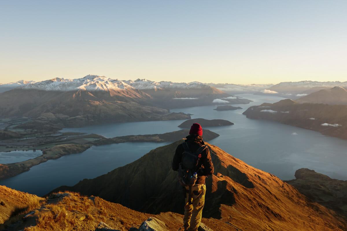 voyage nouvelle zelande roys peak