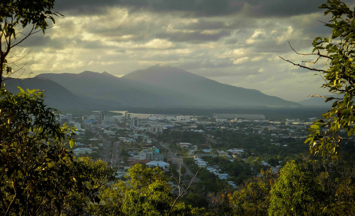 Cairns randonnee jardin botanique mont Whitfield