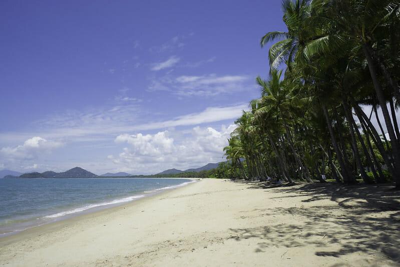 palm cove beach cairns australie