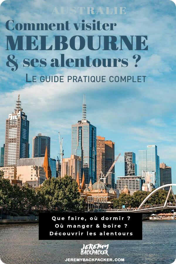 melbourne australie que faire blog voyage