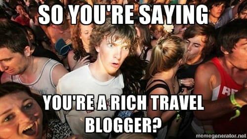 blogueur voyage meme