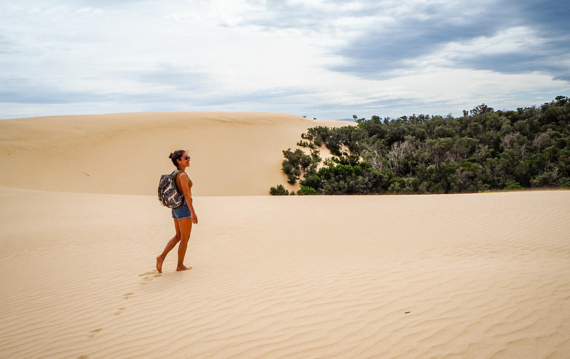 randonnee big drift dunes sable