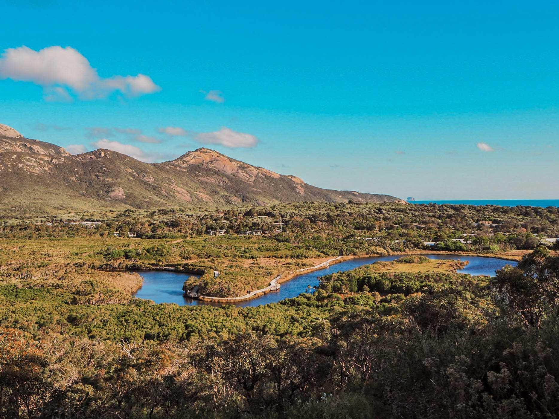 vue tidal river wilsons promontory