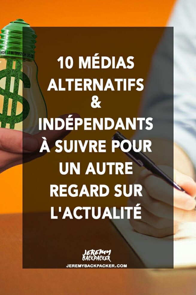 liste media independant libre blog partage