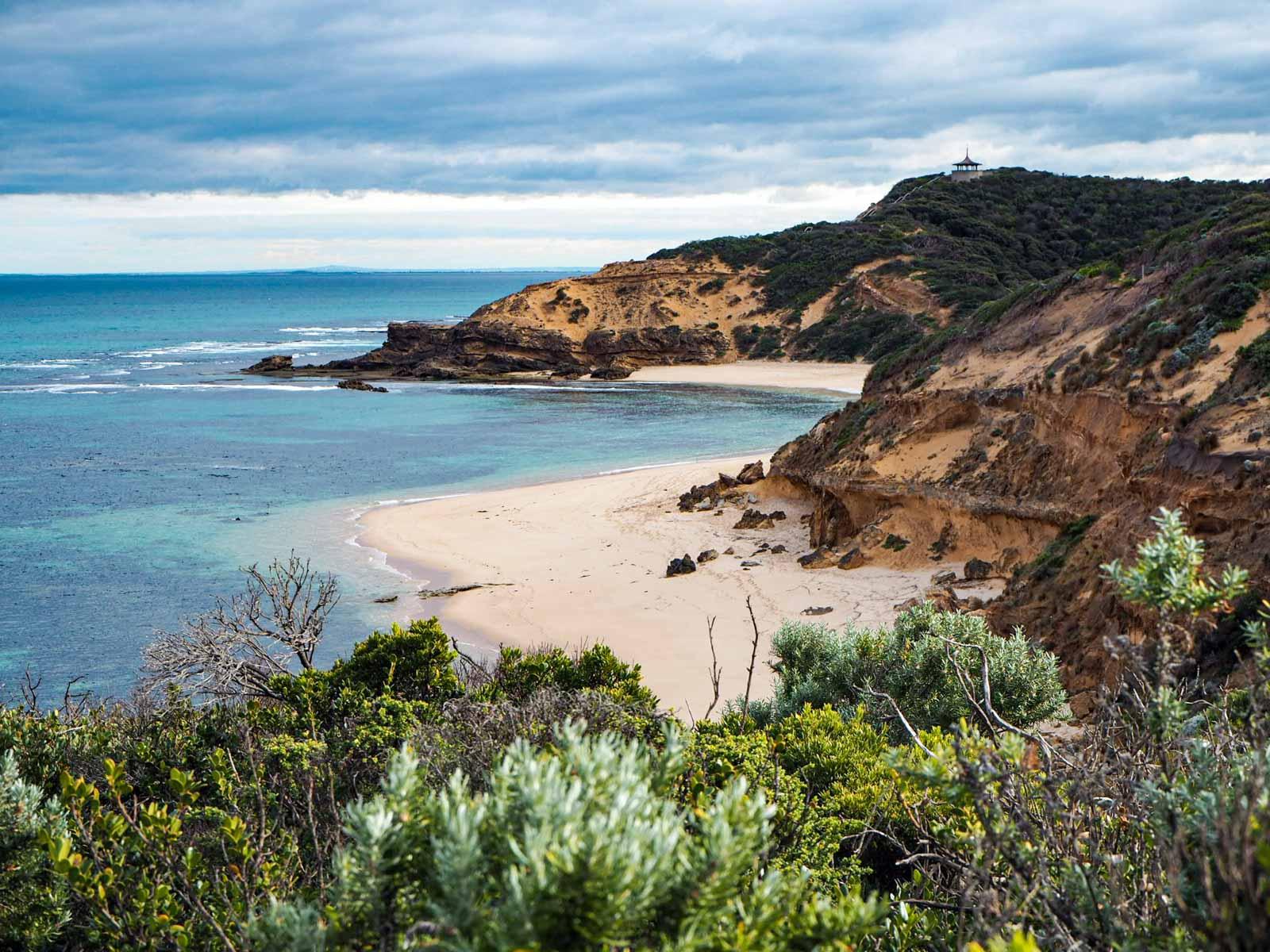 back beach sorrento peninsula mornington