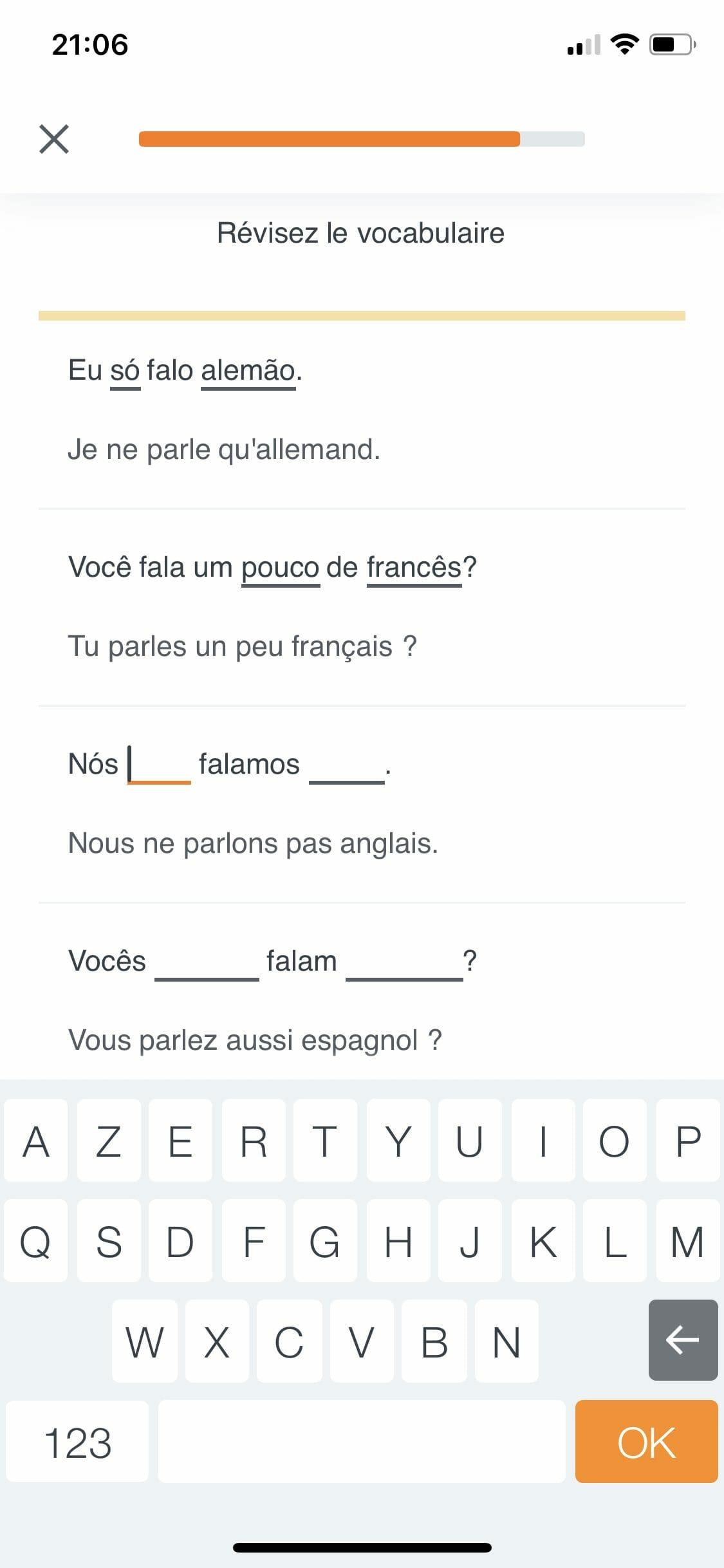 apprendre langue duolingo