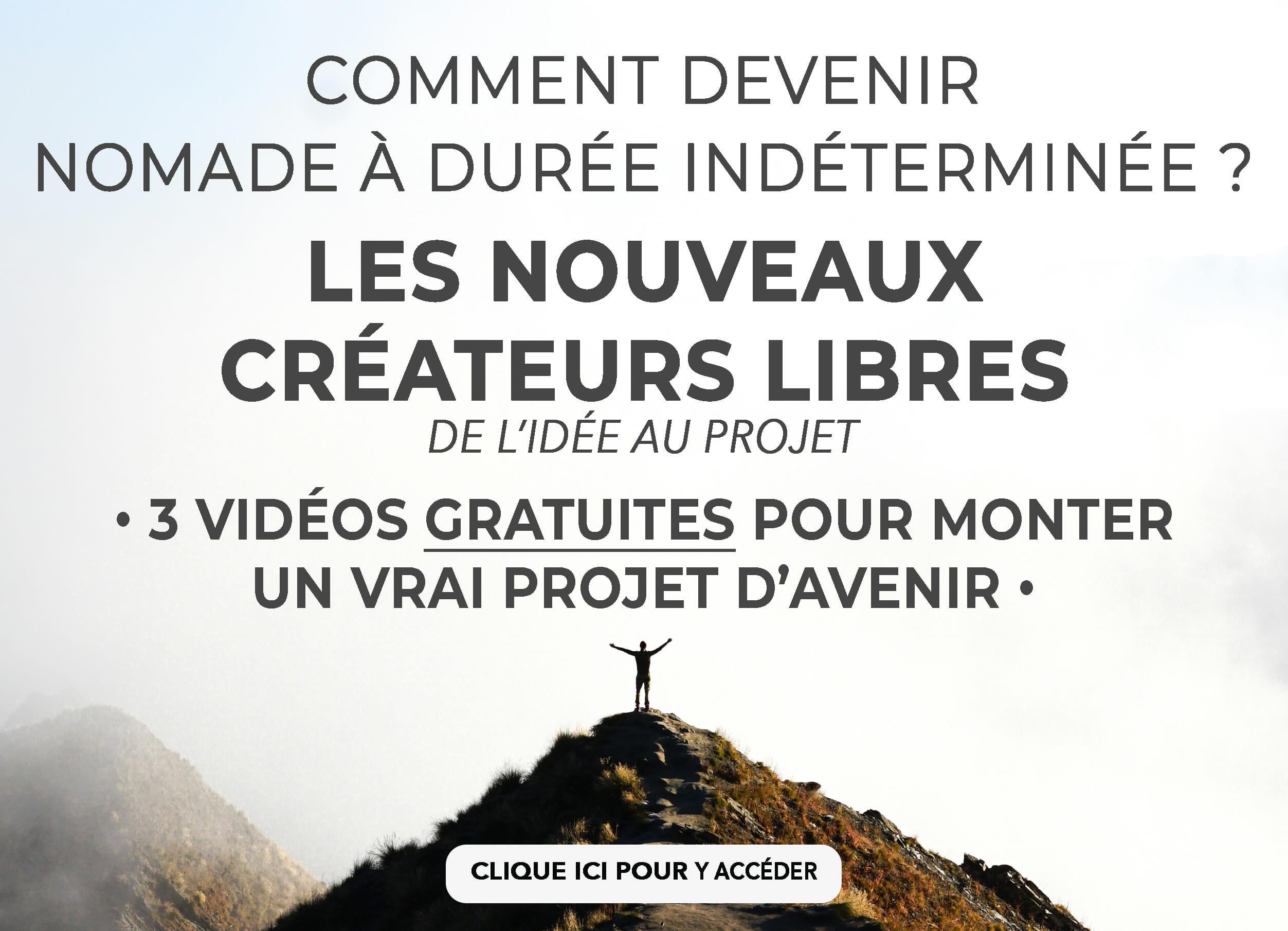 blog voyage digital nomade createur libre